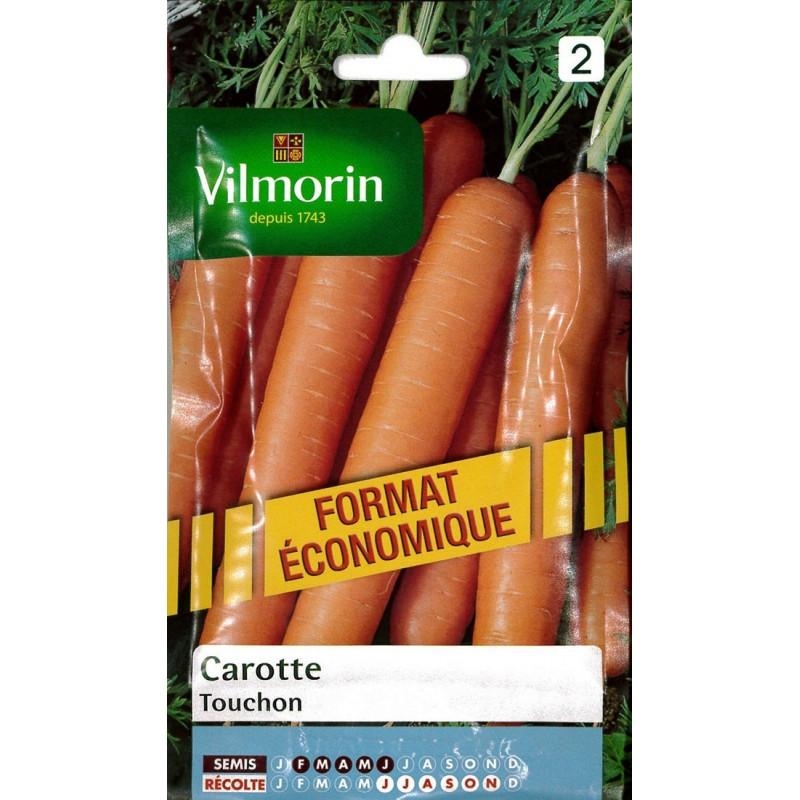 Product sheet Carrot Touchon economic size