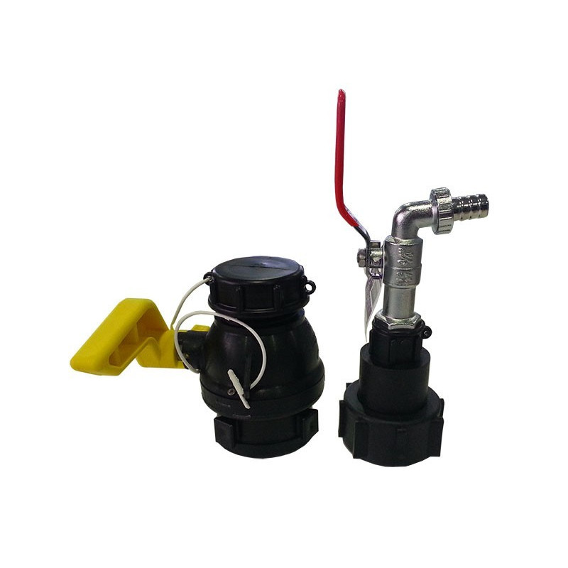 Pack Valve and fitting 56mm