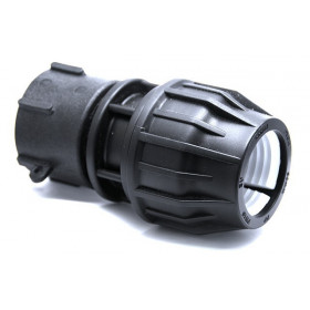 S60x6 fitting - pressure outlet Ø50mm for IBC 1000 liters
