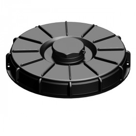 Lid 22cm for tank 1000L with central opening