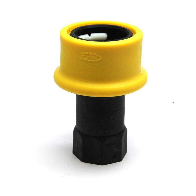 Male fast coupler DRY SHUT with female thread 1 '' BSP