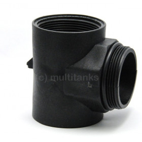 G2 tee connection for IBC tank