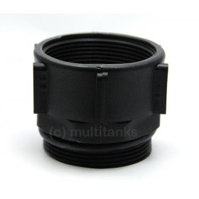 G2 female coupling 1''1 / 2 BSP - male 2 '' BSP