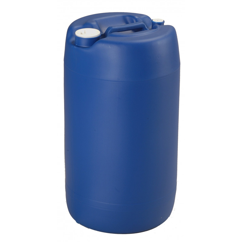 Was 30 liters blue with bungs and handle