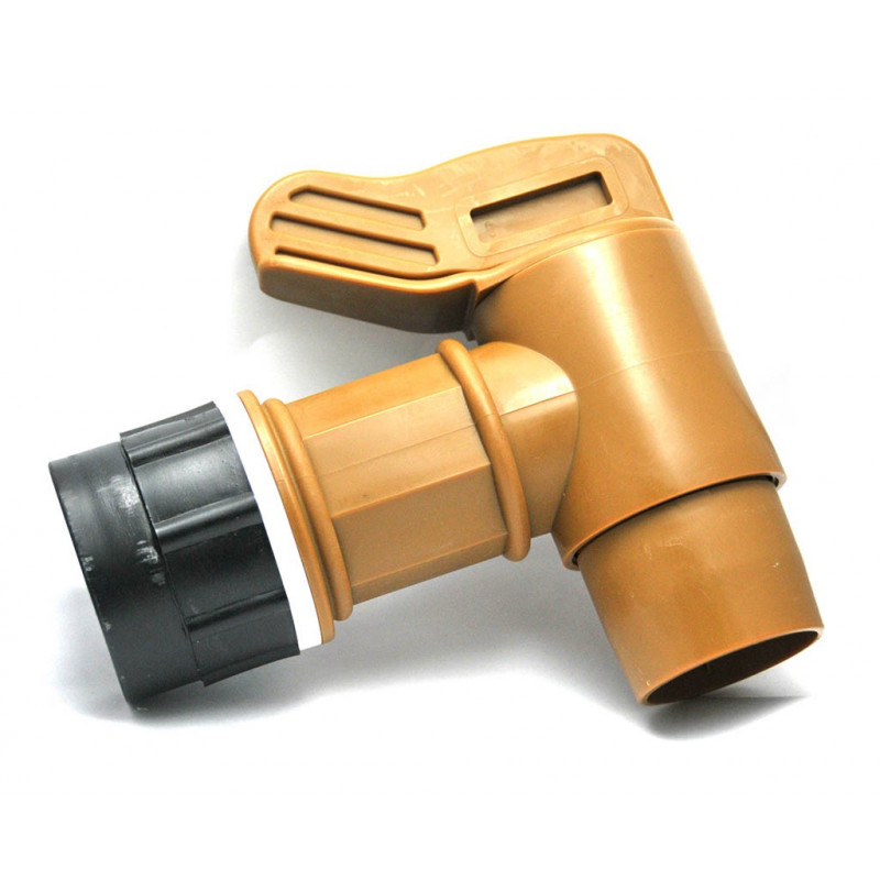 Faucet fitting S60x6 with 50mm outlet