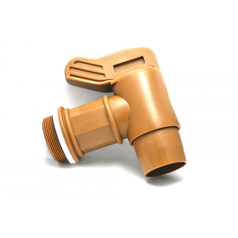 Male tap 2 '' BSP outlet Ø50mm color GOLD