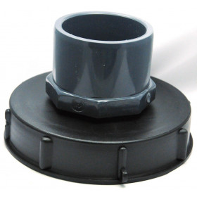 Lid 15cm for 1000L tank with 75/90 PVC inlet
