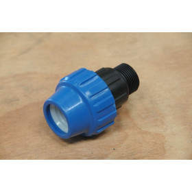 Male connector Ø 25 mm x 3/4 inch