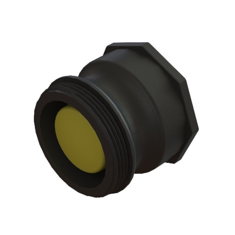 S60x6 female connector - male 2 inch camlock