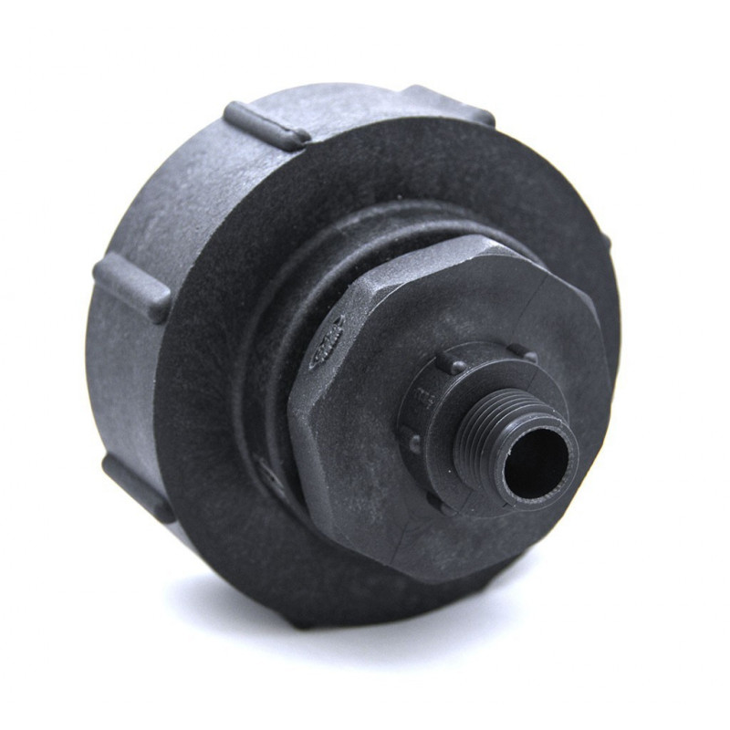 S100x8 female coupling - male thread 1 '' 1/2 BSP
