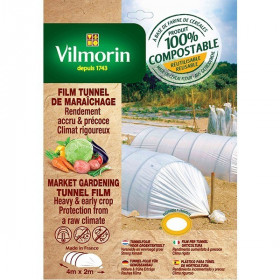 Perforated growth film - cereal flour - 2m x 4m 20μm