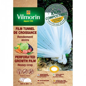 Perforated growth film - cereal flour - 2m x 8m 20μm