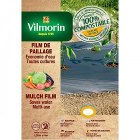Mulching film all crops low thickness - cereal flour - 18μm