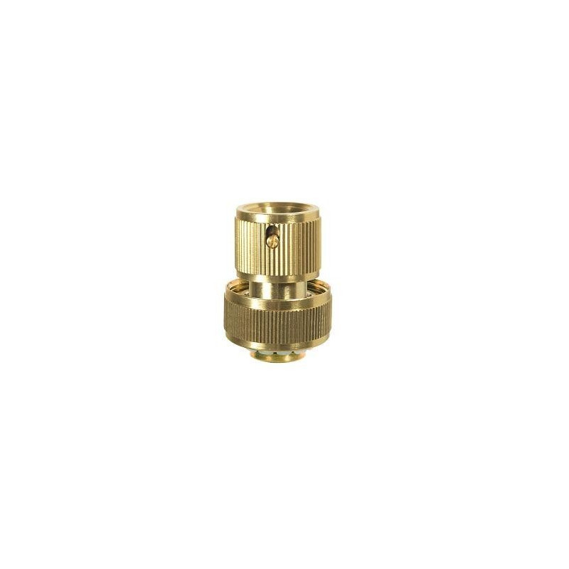 Brass quick coupling