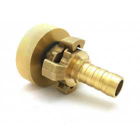 Connection S60x6 - brass splined coupling