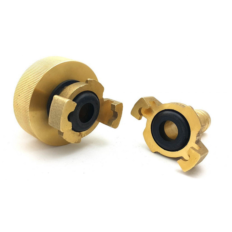 S60x6 fitting - brass flanged union