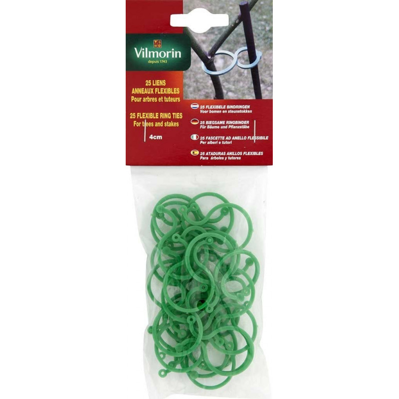 Flexible ring link 4 cm bag of 25 pieces