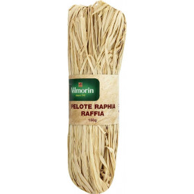 Raffia ball / raffia natural 150gr
