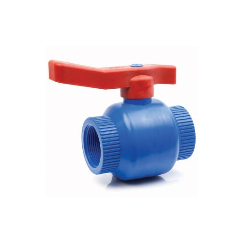 Polypropylene antifreeze ball valve female / female BSP