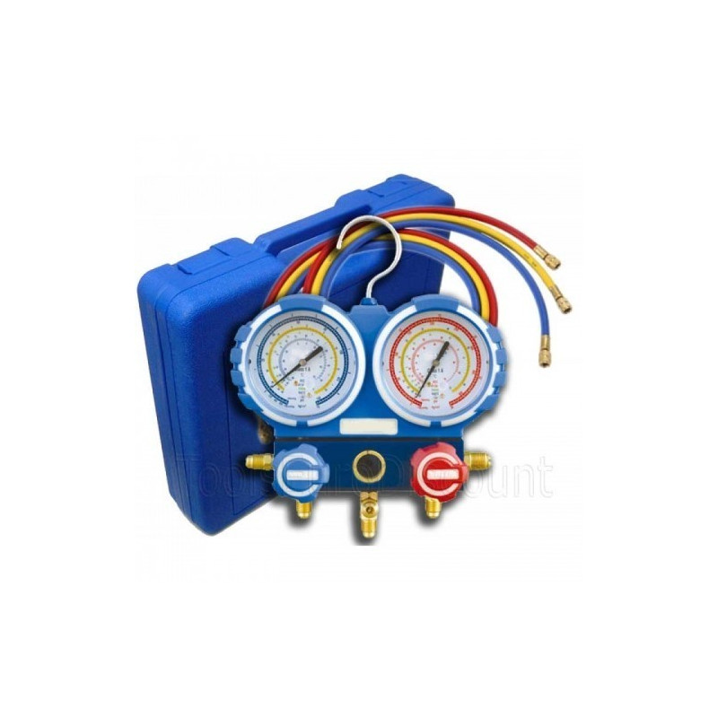 Manifold kit R134a automotive air conditioning