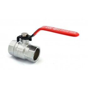 3/4 Inch Female Chrome Plated Brass Ball Valve