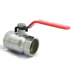 Ball valve female chromed brass female 1 inch 1/4