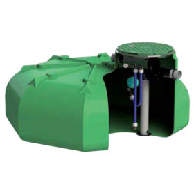 Ecociter pre-equipped rainwater tank