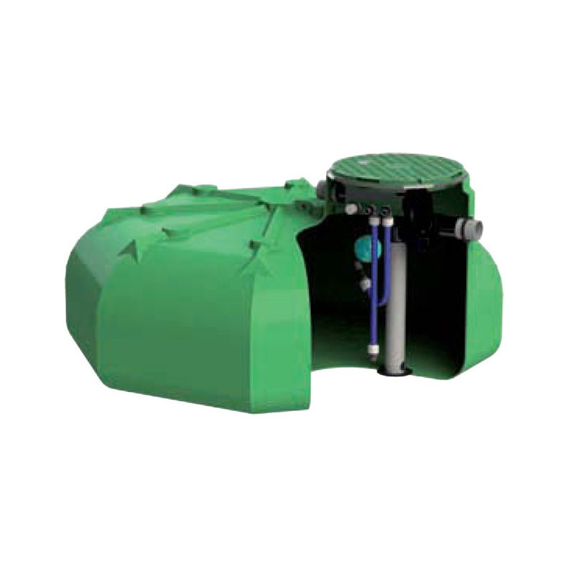 Rainwater recovery tank Ecociter pre equipped