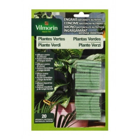 VILMORIN Nutritive Stick Fertilizer for Green Plants 4LG blister of 20