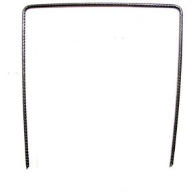 Metal staples 20cm x 20cm for mulching films