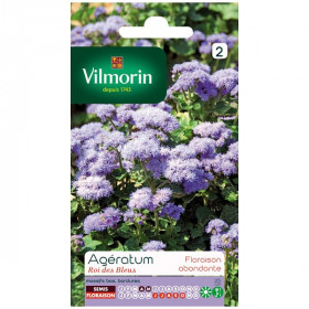Bag Ageratum seeds king of blue