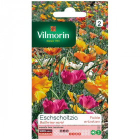 Sachet seeds Eschscholtzia Ballerina varied