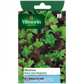 Soft Mesclun seed bag without rocket