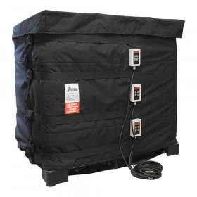 Heating blanket for IBC tank
