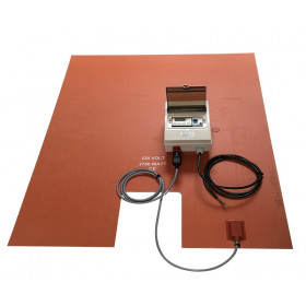 Silicone Heating Base for IBC / IBC