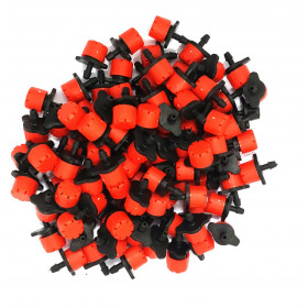 Lot of 100 red color drippers