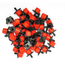 Lot of 50 red color drippers