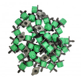 Lot of 50 droppers green color