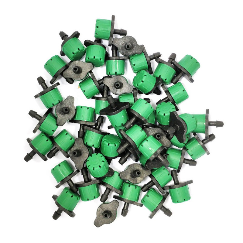 Lot of 50 green color drippers