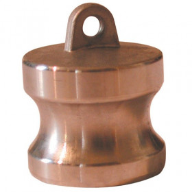 Brass male camlock plug - Type DP