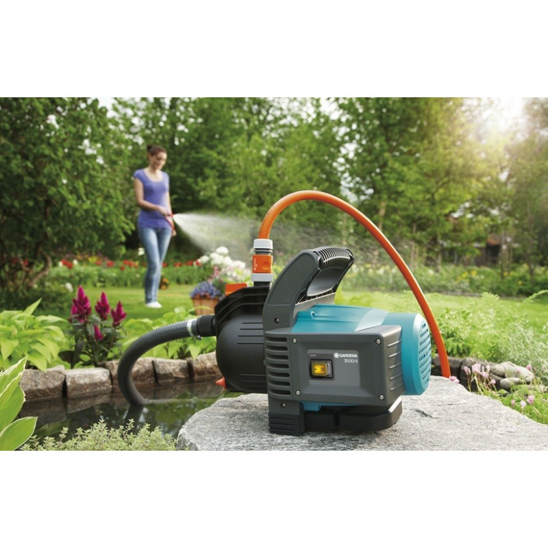 3500/4 Classic Garden Water Pump Kit - GARDENA