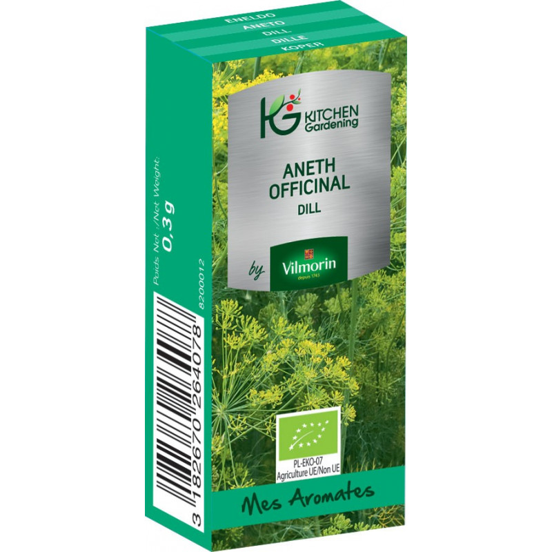 Kitchen Gardening - Aneth Officinal BIO