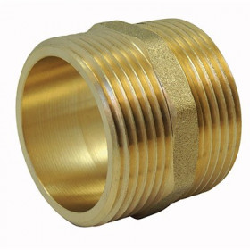 Equal nipple Male / Brass nipple