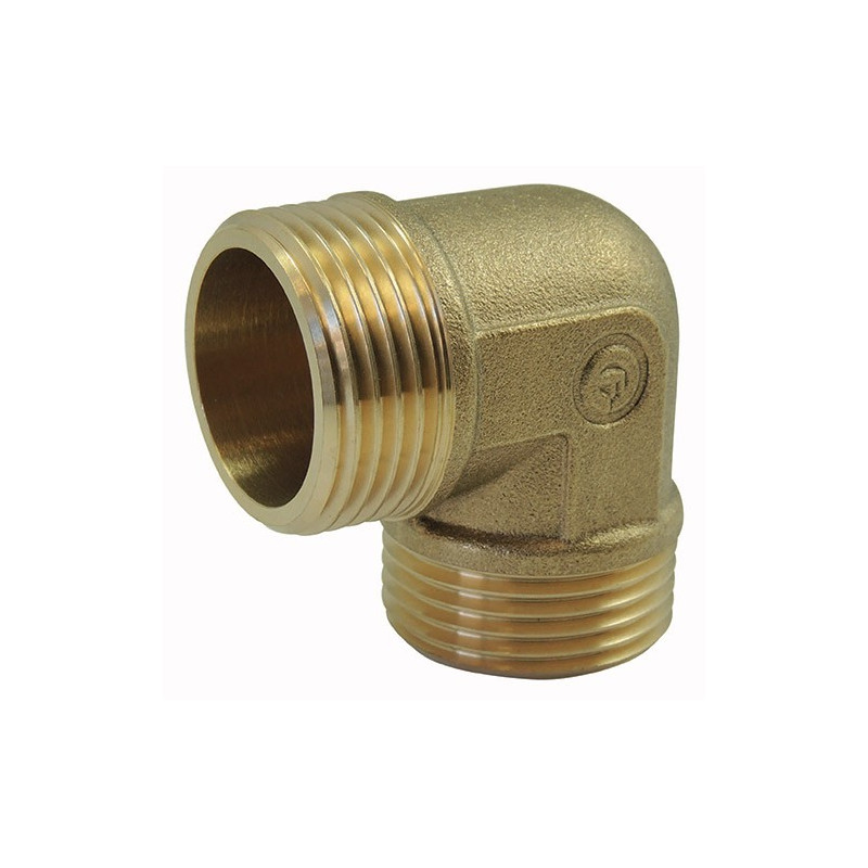 Brass fitting: Male / Male Elbow