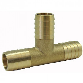 Fluted couplings: Brass junction head