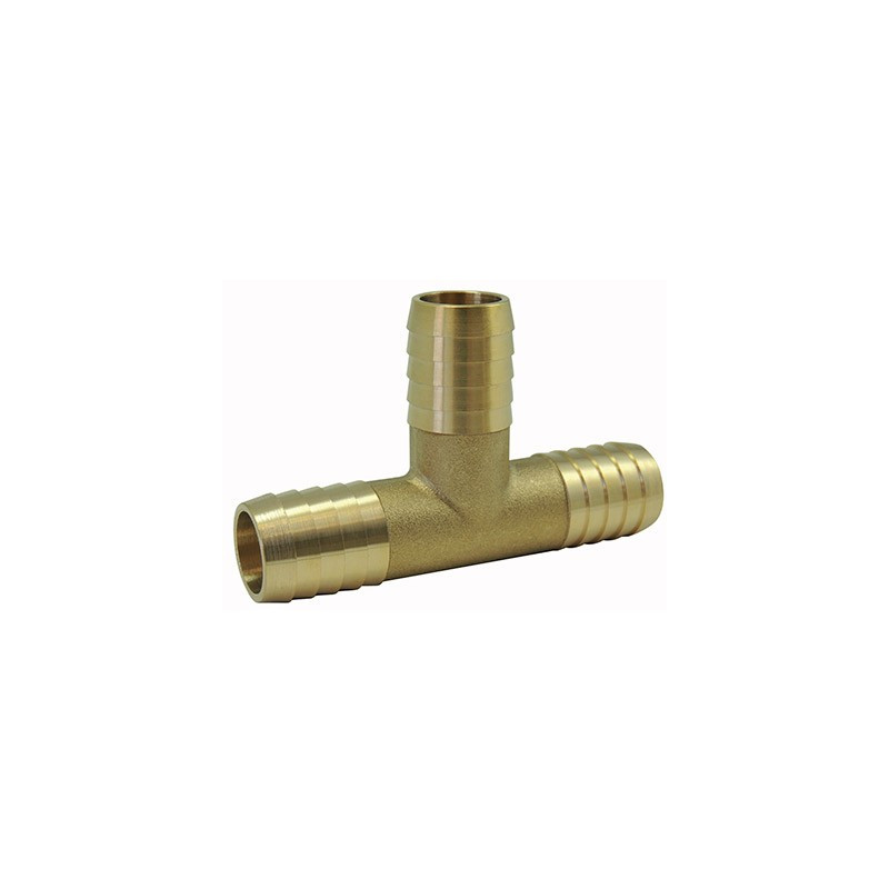 Fluted Fittings: Brass Tee