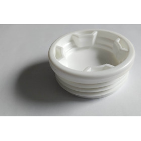 White male plug for S56x4 with thread