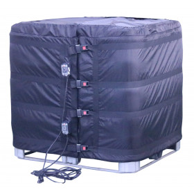 Heating blanket / heater for IBC 1000 liters with 2 heating zones