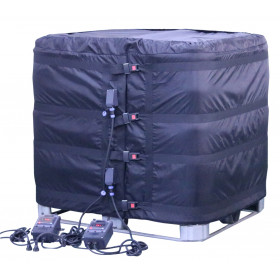 Heating blanket / heater for IBC 1000 liters with fixed dial thermostats