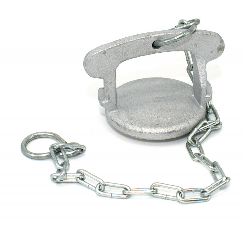 Simplified Guillemin symmetrical cap with handle and chain